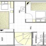 Apartament la etaj cu 3 camere pentru 3 pers. (se poate solicita pat suplimentar)