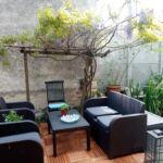 Apartament confort cu vedere spre gradina cu 2 camere pentru 6 pers.