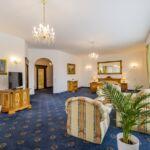 Apartament cu balcon cu 3 camere pentru 4 pers. (se poate solicita pat suplimentar)