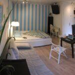 Apartament studio cu 1 camera pentru 3 pers.