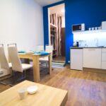 Apartman s klimatizací pro 4 os. se 2 ložnicemi s výhledem do dvora