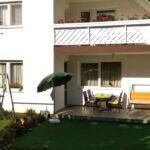 Földszinti kerthelyiséggel 4 fős apartman 2 hálótérrel