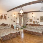 Junior  Suita s manželskou postelí se 2 ložnicemi (s možností přistýlky)