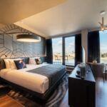 Felső Emeleti Studio Dunai Kilátással - Hetedik Mennyország franciaágyas szoba