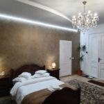 Camera dubla lux cu grup sanitar (se poate solicita pat suplimentar)