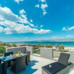 Apartament 6-osobowy Economy z widokiem na morze z 3 pomieszczeniami sypialnianymi