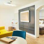 Apartament 2-osobowy Junior z 2 pomieszczeniami sypialnianymi (możliwa dostawka)
