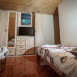 Erkélyes légkondicionált kétágyas szoba