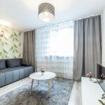 Apartament 4-osobowy Komfort z widokiem na miasto z 2 pomieszczeniami sypialnianymi