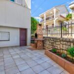 2-Zimmer-Apartment für 4 Personen Parterre mit Aussicht auf den Garten