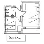 Studio Quadruple Room with Shower (extra bed available)
