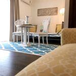 Kertre néző Lux franciaágyas szoba (pótágyazható)