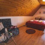Emeleti légkondicionált franciaágyas szoba (pótágyazható)