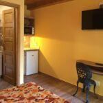 Studio Apartman s manželskou postelí s 1 ložnicí s výhledem do dvora