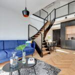 Apartament superior cu terasa cu 3 camere pentru 6 pers.