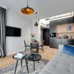 Apartament premier cu terasa cu 3 camere pentru 6 pers.