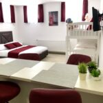 Basement 1-Room Family Apartment for 4 Persons