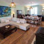 Apartament 8-osobowy z klimatyzacją z widokiem na morze z 4 pomieszczeniami sypialnianymi K-18321