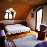 Panorámás erkélyes négyágyas szoba