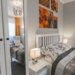 Design Apartman s manželskou postelí s 1 ložnicí s výhledem na hrad