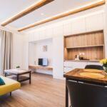 Apartament 3-osobowy Przyjazny podróżom rodzinnym z własną kuchnią z 2 pomieszczeniami sypialnianymi