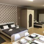Apartament 4-osobowy Deluxe Przyjazny podróżom rodzinnym z 1 pomieszczeniem sypialnianym (możliwa dostawka)