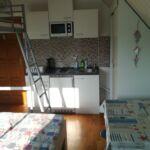 Apartament la mansarda cu aer conditionat cu 1 camera pentru 4 pers.