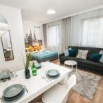 Apartament 4-osobowy Komfort z widokiem na dziedziniec z 1 pomieszczeniem sypialnianym