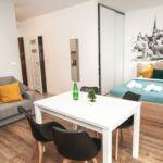Apartament 4-osobowy Premium z widokiem na ogród z 1 pomieszczeniem sypialnianym