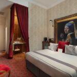 Emeleti légkondicionált franciaágyas szoba