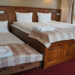 Mountain View Upstairs Double Room (extra bed available)