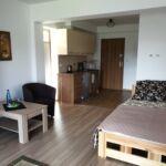 Apartament 2-osobowy z balkonem z łazienką z 1 pomieszczeniem sypialnianym