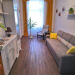 Földszinti saját konyhával 3 fős apartman