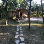 Parkra néző teljes ház 4 fős faház