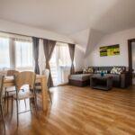 Apartament 4-osobowy na piętrze Family z 6 pomieszczeniami sypialnianymi (możliwa dostawka)