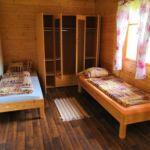 Hütte mit Dusche und Eigener Küche