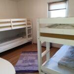 Apartman se sprchou se zahradou pro 6 os. se 2 ložnicemi (s možností přistýlky)