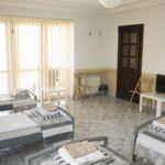 Kertre néző emeleti ötágyas szoba (pótágyazható)