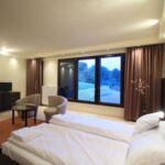 Camera dubla cu panorama (se poate solicita pat suplimentar)