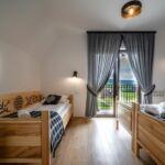 Apartament 5-osobowy Family z widokiem na góry z 2 pomieszczeniami sypialnianymi (możliwa dostawka)