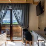 Apartament 2-osobowy z własną kuchnią z widokiem na góry z 1 pomieszczeniem sypialnianym