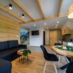 Apartament 5-osobowy z telewizorem LCD/plazmą z widokiem na góry z 2 pomieszczeniami sypialnianymi (możliwa dostawka)