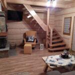 Domek drewniany 9-osobowy cały dom Komfort