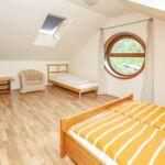 3-Zimmer-Apartment für 6 Personen im Dachgeschoss