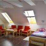Tóra néző tetőtéri négyágyas szoba