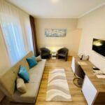 Exclusive Suita s manželskou postelí s 1 ložnicí na poschodí