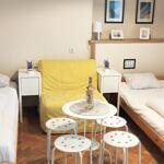 1-Zimmer-Apartment für 4 Personen mit Balkon und Eigner Küche
