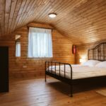 Domek drewniany 3-osobowy cały dom Komfort