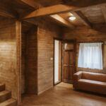 Domek drewniany 5-osobowy cały dom Komfort