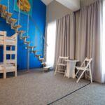 Camera gallery dormitory  pentru 11 pers.